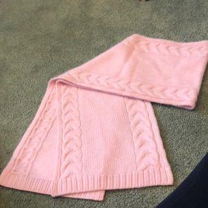 Light pink 100% cashmere sweater.